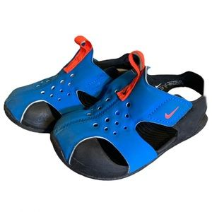 Nike Blue Wet Dry Sandals - Toddler's Size 5